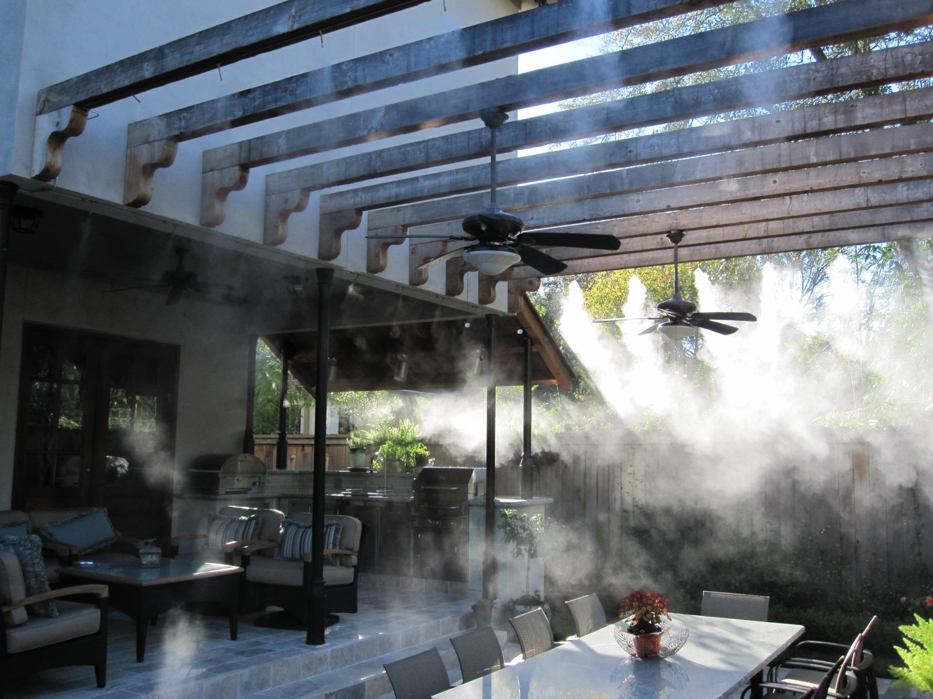 Охлаждение туманом веранд Владикавказ